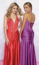 Mori Lee 8229 Red/Purple Dress