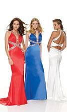Mori Lee 8510 Red/Royal/White Dress