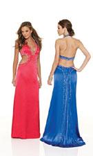 Mori Lee 8512 Candy Apple/Sapphire Dress