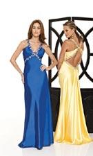 Mori Lee 8514 Royal/Yellow Dress