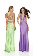 Mori Lee 8515 Lime/Purple Dress