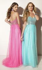 Mori Lee 91029 Blue/Pink Dress