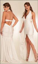 Natalia Atria 1202 White Dress