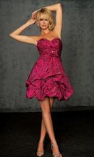 Night Moves 6012 Fuchsia Dress