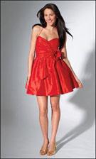 Niki 1308 Red Dress