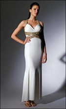 Niki 16208 Ivory Dress