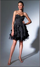 Niki 16285 Black Dress