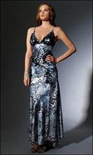 Niki 16326 Black White Dress