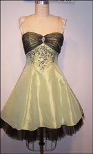 Niki Zum Zum 1109 Lime Dress
