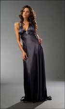 Niki Zum Zum 16019 Gun Metal Dress