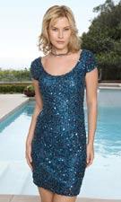 Scala 14153 Navy Dress
