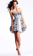 Scala 17006 Silver Dress
