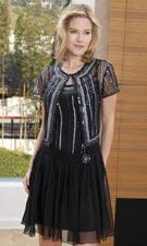 Scala 25367 Black Dress