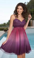 Scala 46956 Plum Dress