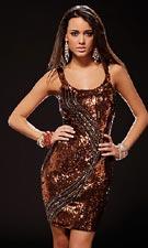 Scala 47137 Bronze Dress