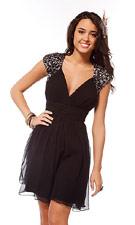 Scala 47138 Black Dress