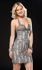 Scala 47164 Silver Dress