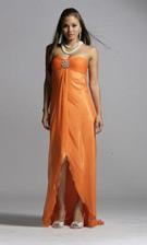 Scala 7993 Orange Dress