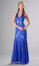Sean 50125 Blue Dress