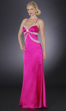 Sean Collection 70067 Fuchsia Dress