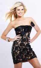 Sherri Hill 1108 Black Dress