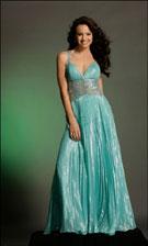 Sherri Hill 2011 Turquoise Dress