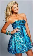 Sherri Hill 2025 Turquoise Dress