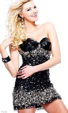 Sherri Hill 2754 Black Dress