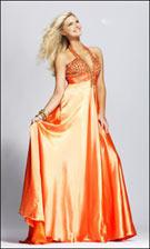 Sherri Hill 3006 Orange Dress