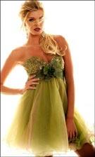 Sherri Hill 3053 Green Dress