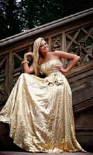 Sherri Hill 4007 Gold Dress