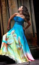 Sherri Hill 4010 Turquoise Dress