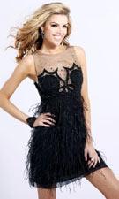Sherri Hill 5100 Black Dress