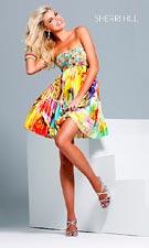 Sherri Hill 9230 Yellow Dress