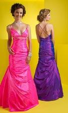Studio 17 1291004 Bubblegum/Purple Dress