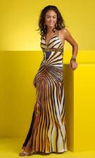 Studio 17 1291023 Gold Dress