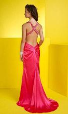 Studio 17 1291030 Hot Pink Dress
