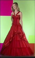 Studio 17 2737 Red Dress