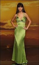 Studio 17 2747 Lime Silver Dress