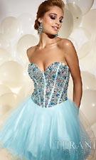 Terani P677 Aqua Dress