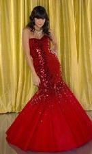Tiffany 1691003 Red Dress