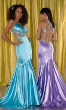 Tiffany 1691006 Aqua/Orchid Dress