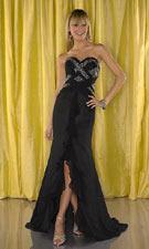 Tiffany 1691038 Black Dress