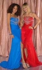 Tiffany 1691044 Royal/Red Dress