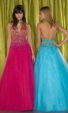 Tiffany 1691060 Fuchsia/Turquoise Dress