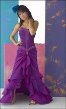 Tiffany 6671 Purple Dress