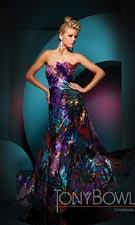 Tony Bowls 111703 Purple Dress