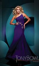 Tony Bowls 111705 Purple Dress