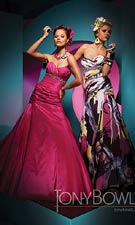 Tony Bowls 111707 Fuchsia Dress
