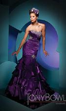 Tony Bowls 111717 Purple Dress